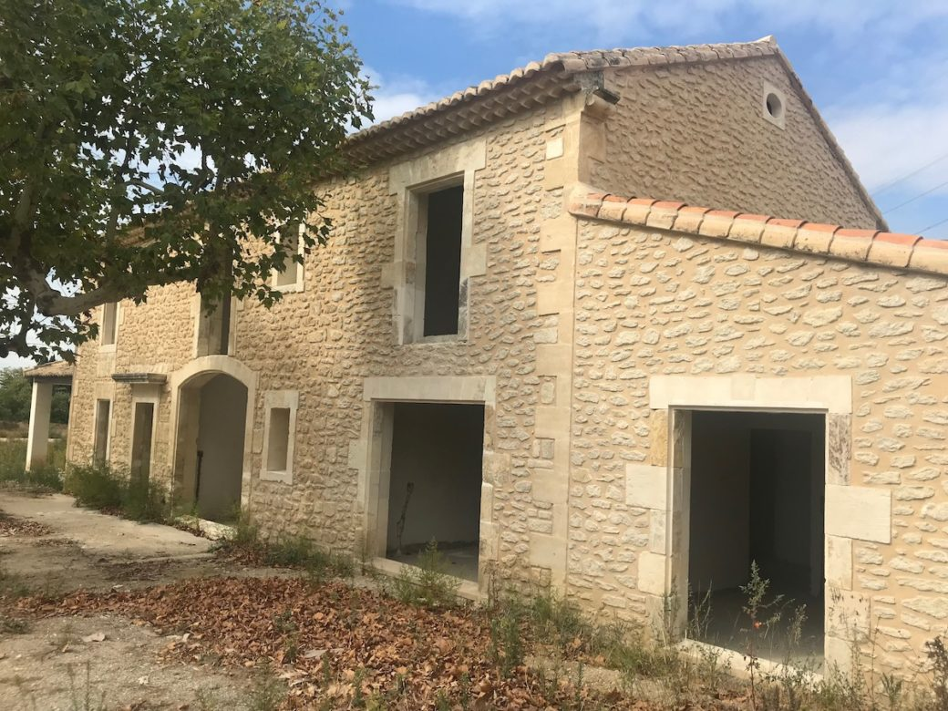 Renovatie familie Van Nielandt (plaats Saint-Remy-de-Provence)